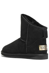 Australia Luxe Collective Shearling Ankle Boots Black