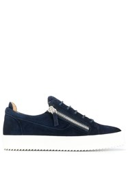 Giuseppe Zanotti Low Top Sneakers Blue