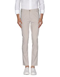 Heavy Project Trousers Casual Trousers Men Light Grey