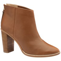 Ted Baker Lorca 2 Block Heel Ankle Boots Tan