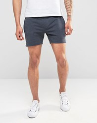 Only And Sons Jersey Short Shorts Navy Blue