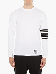 Raf Simons White Cotton Baseball T Shirt