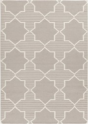 Chandra Lima Patterned Rectangular Reversible Wool Cotton Area Rug 5 Brown