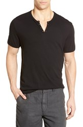 Men's John Varvatos Star Usa Eyelet Neck Henley