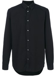 Maison Martin Margiela Classic Poplin Shirt Men Cotton 41 Black