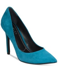 Charles By Charles David Pact Pumps Women's Shoes Dark Teal Suede