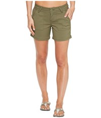 Prana Olivia Shorts Cargo Green Women's Shorts