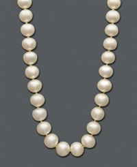 Belle De Mer Cultured Freshwater Pearl Strand Necklace 10 1 2 11 1 2Mm In 14K Gold