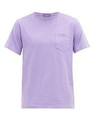Ralph Lauren Purple Label Cotton Jersey T Shirt Purple