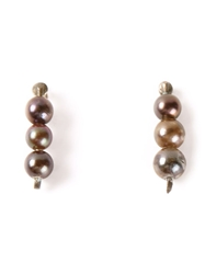 Henson Pearl Earrings Metallic