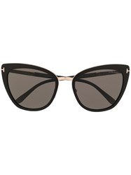 Tom Ford Eyewear Simona Sunglasses Black