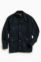 Pendleton Blackwatch Cruiser Shirt Jacket Black Multi