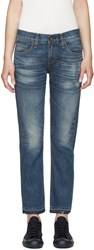 Rag And Bone Blue X Boyfriend Jeans