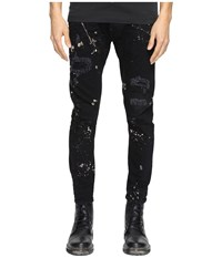 Dsquared Five Pocket Acid Black Wash Jeans