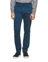 Calvin Klein Jeans Tapered Chino Pants Ocean Wave
