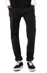 Topman Men's Washed Skinny Fit Stretch Jeans