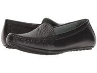 David Tate Lana Black Naked Calf Women's Flat Shoes