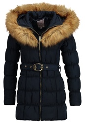 Anna Field Jaqueline Winter Coat Navy Dark Blue