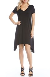 Karen Kane Hailey High Low Dress Black