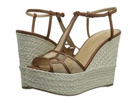 Sergio Rossi Puzzle Wedge Honey Cream