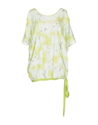 Twin Set Simona Barbieri Topwear T Shirts Women Acid Green