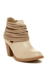 Rampage Verna Ankle Boot Beige