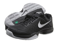 Nike Air Cage Court Black Black Metallic Silver Men's Tennis Shoes