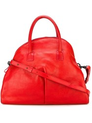 Marsell Marsell Half Moon Tote Red