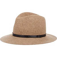 Floppy Brim Fedora Brown Mult
