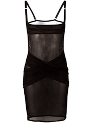 Maison Close 'Mise A Nu' Naked Dress Black