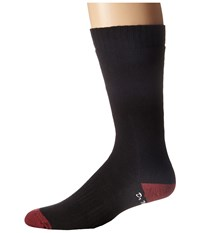 Dr. Martens Doc's Sock Black Oxblood Knee High Socks Shoes