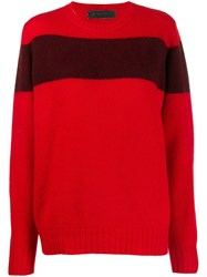 The Elder Statesman Contrast Stripe Jumper 60