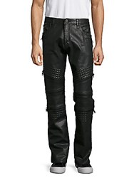 Cult Of Individuality Eight Pocket Zipped Pants Black Coated