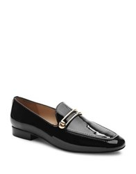 Tahari Ta Salty Patent Leather Loafers Cafe