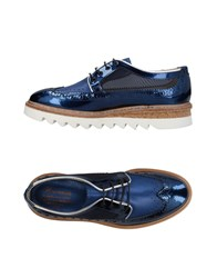 Barracuda Lace Up Shoes Blue