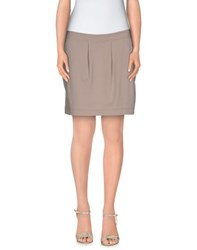 Gotha Skirts Mini Skirts Women Dove Grey