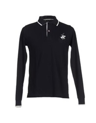 Beverly Hills Polo Club Polo Shirts Dark Blue