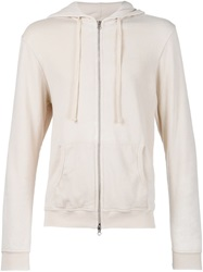 Fadeless 'Burn Out' Hoodie Nude And Neutrals