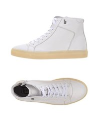 B Store Footwear High Tops And Trainers Men White