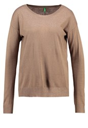 United Colors Of Benetton Jumper Army Dark Green