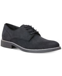 Calvin Klein Jeans Massey Suede Oxfords Men's Shoes Black