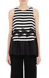 Thakoon Layered Tank Black Size 6 Us