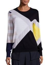Public School Ina Graphic Print Sweater Multicolor