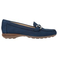 Geox Euxo Loafers Dark Royal Nubuck