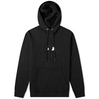 Mcq By Alexander Mcqueen Monster Patch Popover Hoody Black