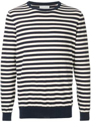 Gieves And Hawkes Striped Fitted Sweater Multicolour