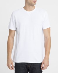 Norse Projects Photo Error White Niels Sport Waffle T Shirt