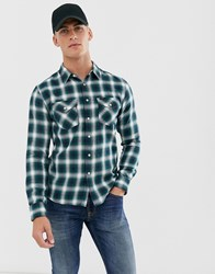 Lee Western Style Shirt In Navy