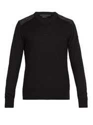 Canada Goose Mcleod Wool Sweater Black