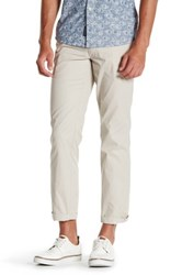 Tailorbyrd Flat Front Chino Pant 30 34 Inseam Lt Putty